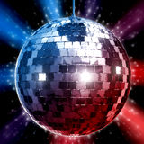 Fanky Disco Ball. 3D Rendered illustration of disco ball Stock Photos