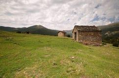 Fanlo homes. Fanlo houses, Aragonese Pyrenees, spain Stock Images