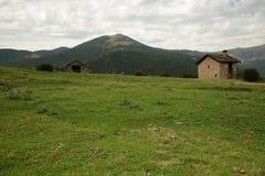 Fanlo homes. Fanlo houses, Aragonese Pyrenees, spain Royalty Free Stock Photos