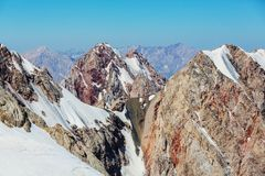 Fann Mountains Photo stock