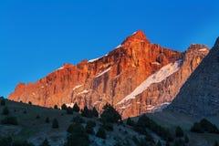 Fann Mountains royalty-vrije stock foto's