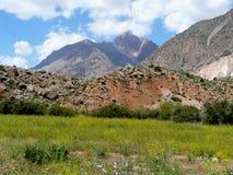 The Fann mountains in Tajikistan Stock Image