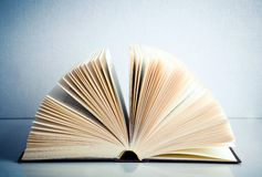 Fanned book Stock Photo