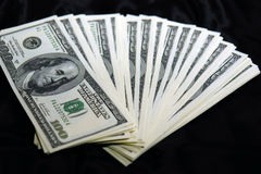 Fanned money Stock Photo