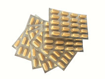 Fanned out medicine blisters Royalty Free Stock Photo