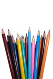 Fanned pencils Stock Images