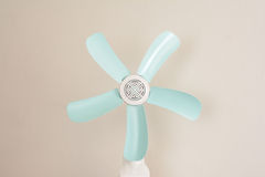 Fanner. Mechanical fan. This fan blades rotate slowly bring cool people rejoice Stock Images