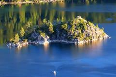 Fannette Island in Emerald Bay, Lake Tahoe, California, USA Stock Photos