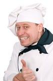 fanny шеф-повара Стоковое Изображение