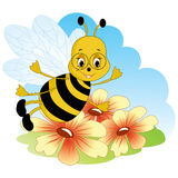 Fanny bee. Stock Photography