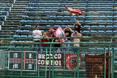 Fano supporters Stock Images