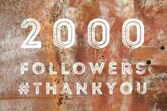 2000 Fans Lizenzfreies Stockbild