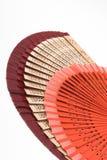 Fans. Color fans stock image