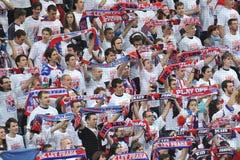 Fans av Lev Prague Royaltyfri Foto