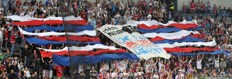 Fans av Lev Prague Royaltyfria Foton