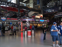 Free Fans By Concession Stand At Lucas Oil Stadium Royalty Free Stock Photos - 60823828