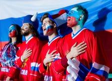 Fans chanteurs Photo libre de droits