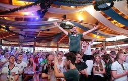 Fans 036 d'Allemand Photographie stock