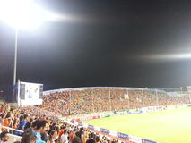 Fans de APOEL Nicosia Fotos de archivo