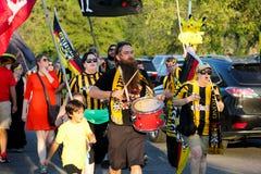 Fans de Charleston Battery Fotos de archivo libres de regalías