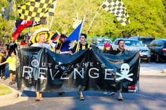 Fans de Charleston Battery Fotos de archivo