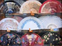 Fans de flamenco, Valence Images libres de droits