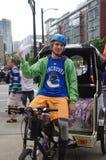 Fans de hockey de los Vancouver Canucks Fotos de archivo
