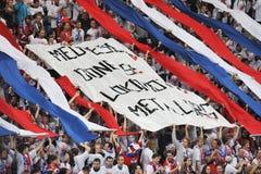 Fans de Lev Prague Photo libre de droits