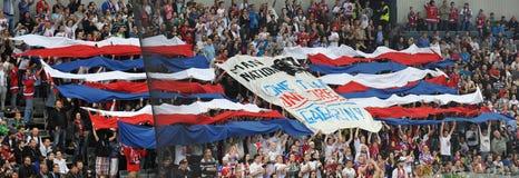 Fans de Lev Prague Photos libres de droits