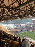 Fans de los Pittsburgh Steelers Imágenes de archivo libres de regalías