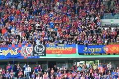 Fans de Piast Gliwice photos libres de droits