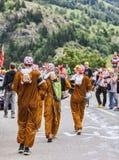 Fans de Tour de France de le Image libre de droits