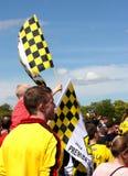 Fans de Watford FC Fotos de archivo