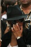 Fans du ` s de Michael Jackson Photographie stock