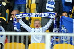 Fans of FC Chelsea Stock Images