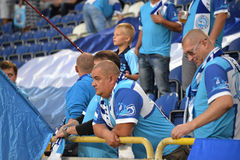 Fans of FC Dnipro Stock Photo