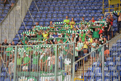 Fans of FC Karpaty Royalty Free Stock Image