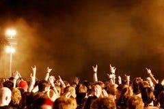 fans hands Στοκ φωτογραφία με δικαίωμα ελεύθερης χρήσης