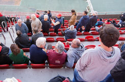 Fans at Iberostar Stadium Palma Stock Image