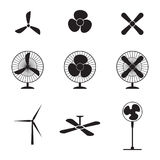Fans icons Stock Image