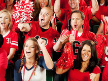 Fans: Men Distracted By Home Team Winning Stock Photography