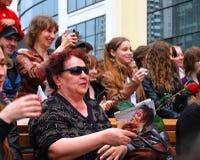 Fans of Michael Jackson Royalty Free Stock Photos