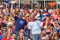 Free Fans On The Stands Game Of The Fifa Women S World Cup At Winnipeg Stadium Stock Photo - 85349380