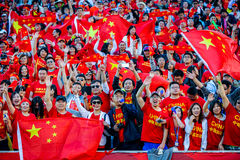 Free Fans On The Stands Game Of The Fifa Women S World Cup At Winnipeg Stadium Stock Photography - 85349572