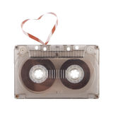 For fans of a retro music. Heart sounds Stock Photo