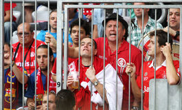 Fans of Sport Club Internacional Stock Photos