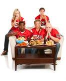Fans : Team Will Lose inquiété par fans Images libres de droits