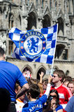 Fans at the UEFA Champions League Finale in Munich Royalty Free Stock Image