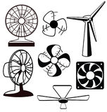 Fans ventilators Stock Images