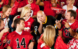 Fans: Visiting Team Losing the Game Stock Photos